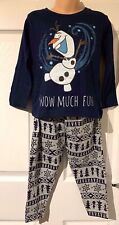 new ex store Frozen Olaf pyjamas age 3-4 4-5 /& 5-6