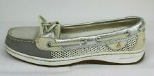 Sperry top-sider womens Sperry top sider boat shoes metallic size 6M