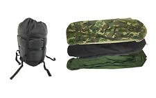 4 Piece Modular Sleep System MSS, Army Issue Sleeping Bag w/ Gore-tex BDU Bivy