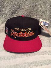 vtg DS Washington Redskins Script snapback hat cap 90s jersey Sports Specialties