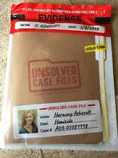 UNSOLVED CASE FILES: H. ASHCROFT - MURDER MYSTERY GAME DETECTIVE *Sealed