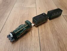 Thomas Trackmaster Emily Train with powered tender & carriage. RARE. OLD STYLE