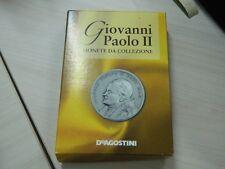 cinque monete da collezione Giovanni Paolo II De Agostini OMA157