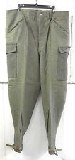 Unissued Wwii (Dated 194O) Swedish M39 Army Wool Field Trousers (32� Waist)