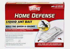 New!! Ortho HOME DEFENSE Liquid ANT BAIT Kill 6 Stations 0464812 NO SALE IN CA