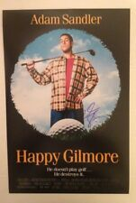 ADAM SANDLER AUTOGRAPHED HAPPY GILMORE 12x18 PHOTO MOVIE POSTER, NICE AUTOGRAPH