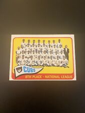 1965 O-Pee-Chee OPC Chicago Cubs Team #91