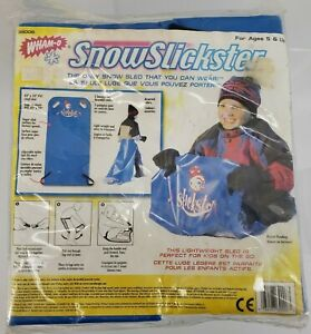 Wham-O SnowSlickster 39006 Wearable Snow Sled 42 x 20 PVC Vinyl NOS Sealed
