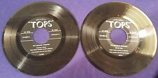 PAUL MARTIN & HIS OLD TIMERS 2-45 Records Set 10 Songs TOPS Records 12-605