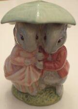 Beatrix Potter Goody & TIMMY ringhiando-Beswick-BUONE CONDIZIONI-marrone che fa risalire