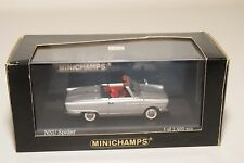 . MINICHAMPS NSU SPIDER 1964-67 METALLIC SILVER GREY MINT BOXED