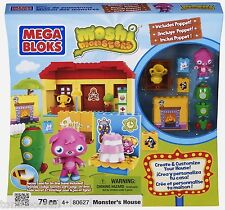 Mega Bloks Moshi Monsters Buildable House - New