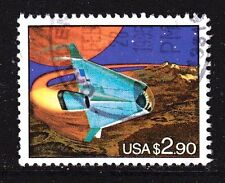 Scott #2543 Used Futuristic Space Shuttle