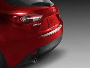 Mazda 3 2014-2016 Hatch New OEM Stainless Steel Rear Bumper Guard 0000-8T-L32