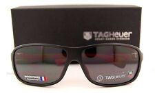 Brand New TAG Heuer Sunglasses LEGEND 9302 112 Black/Red/Outdoor Grey For Men