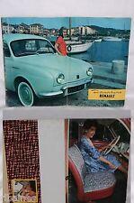 Renault Dauphine 1950's Brochure/Booklet/Catalogue