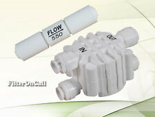 Auto Shut Off  Valve & Flow Restrictor 550 ML for RO Reverse Osmosis System