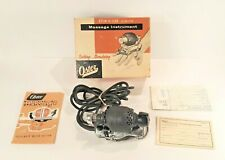 VINTAGE OSTER STIM-U-LAX JUNIOR MASSAGE INSTRUMENT MODEL M4 W/BOX HAND VIBRATOR