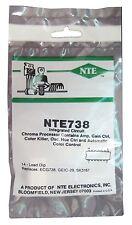NTE738: Integrated Circuit: Color TV Processing Circuit: 14-Pin DIP