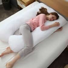 Hypoallergenic Down Alternativeu U Shaped Body Pillow - By Cheer Collection