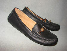 New WOB Coach Women Arlene Leather Slip-on Flat Loafers/Driving Moccasins Sz.6.5