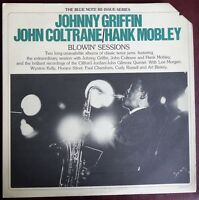 Johnny Griffin John Coltrane Hank Mobley Blowin' Sessions 1975 Blue Note RE EX