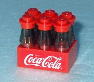 ACCESSORY Lego Coke Coca-Cola 6pk Official/Genuine Lego NEW Food