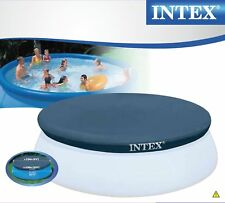 Intex 28022 - Abdeckplane rund für Easy Pool 366 Cm B-ware