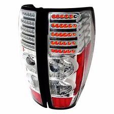 2004-2012 CHEVY GMC ISUZU COLORADO CANYON PICKUP LED Tail Lights - CHROME