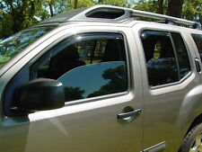In-Channel Vent Shade Visors for 2005 - 2017 Nissan Xterra
