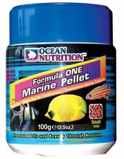 Cibo per pesci marini. Ocean nutrition Formula One marine pellet.granuli.