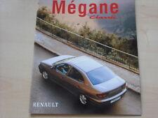 52204) Renault Megane Classic Prospekt 12/1997