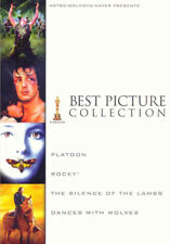 Platoon/ Rocky /Silence of the Lambs/ Dances with Wolves Best Picture Collection
