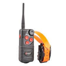 AETERTEK Waterproof  Rechargeable 600 Yard Remote Dog Training Shock Collar