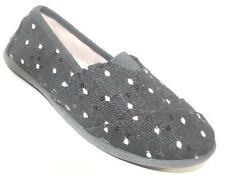 NEW Girls Toddlers JUMPING BEANS MALTA NOIR BLACK Slip On Flats Shoes SZ 11