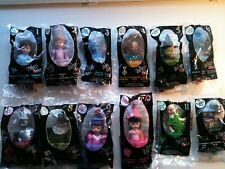 2008 Wizard of Oz Complete Set McDonald's Madame Alexander Lot with Toto dog