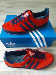 ADIDAS ORIGINALS MENS JEANS TRAINERS 2021 RED RARE LIMITED STOCK  SIZE 7,8,9,10