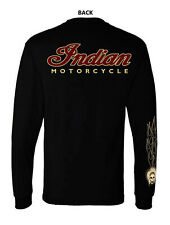 INDIAN MOTORCYCLE T-SHIRT  LONG SLEEVE
