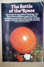 1977 FA Cup Semi Final - LEEDS UNITED v MANCHESTER UNITED @ Hillsborough,23 Apri