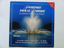 Passeport pour le Baroque VIVALDI les quatre saisons HAENDEL Water Music 4251031