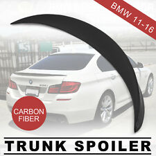Carbon Fiber High Kick Trunk Spoiler For BMW F10 Coupe 520i 528i M5Wing Lip CF.