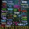 10 Aufkleber Set  Auto Aufkleber Tuning Sticker jdm oem Dapper static mivw oem