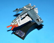 STAR WARS CLONE WARS REPUBLIC GUNSHIP TIGER SHARK TITANIUM SERIES LOOSE COMPLETE