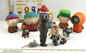 14pc 2003 Mirage Series 1 2 3 South Park Action Figure Rare Lot Cartman Kyle +++