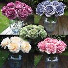 Multicolor Phantom Rose Peony TOP Silk Flowers Bouquet Single Decor Wedding