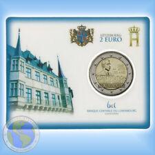 """2 Euro Coincard Luxemburg 2018 """" Verfassung """" mit Münzzeichen Brücke # nur 7.500"""