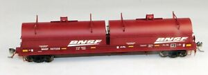 Red Caboose #RR-32563-04 Evans Coil Car BNSF #527239 1/87 HO Scale