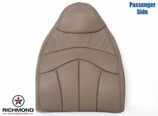 1999 Ford F150 X-Cab -Passenger Lean Back Leather Seat Cover w/ Lariat Logo TAN