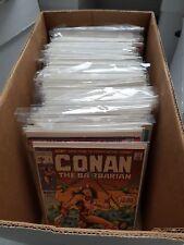 Conan Marvel comics lot, 90+ bronze age issues