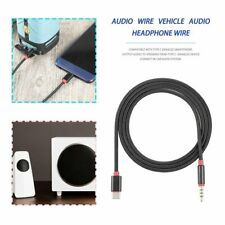 USB Type-C Audio Cable Converter to 3.5mm AUX Audio Extension Cable Cord ND
